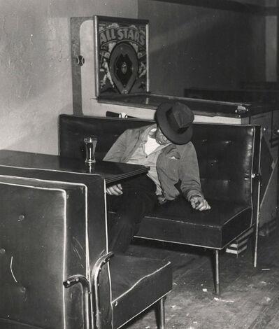 Weegee, 'Drunk', ca. 1940