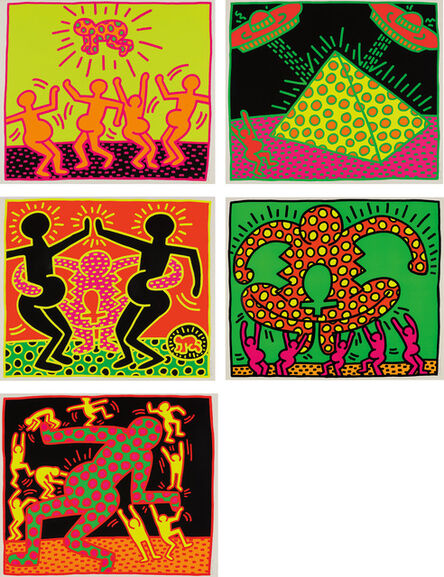 Keith Haring, 'The Fertility Suite', 1983