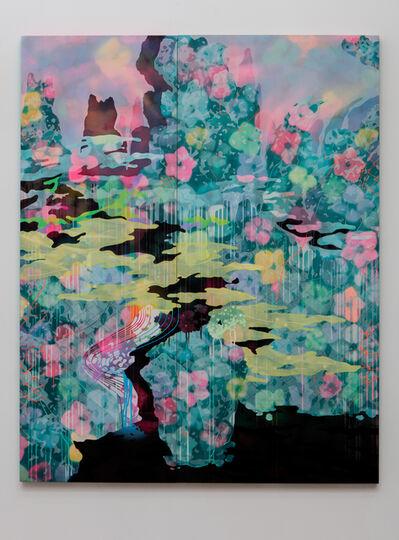 Hidenori Ishii, 'The Black Lake I (A Blue Landscape)', 2015