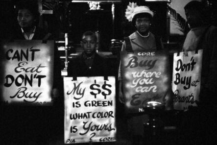 Eve Arnold, 'Demonstration during civil rights movement, Virginia, 1960', 1960