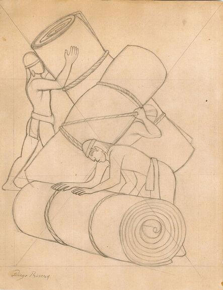 Diego Rivera, 'Cargadores de Petates'