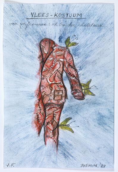 Jan Fabre, 'ich bin ein Skelettemann', 1988