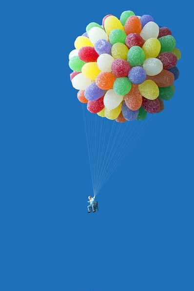 Christopher Boffoli, 'Gumdrop Balloonist', 2013