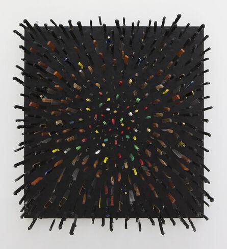 Farhad Moshiri, 'Colored Knives on Black', 2013