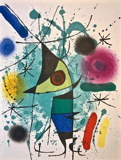 Joan Miró, 'Original Lithograph XI', 1972