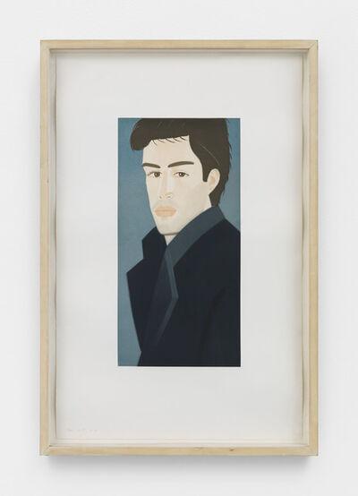 Alex Katz, 'Vincent (Blue Coat)', 1993