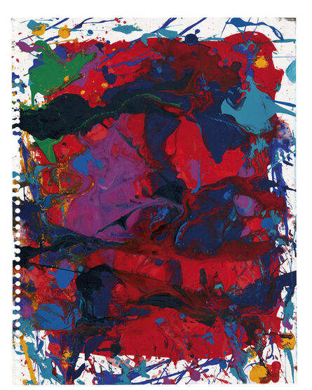 Sam Francis, 'Ohne Titel (SF90-113)', ca. 1990