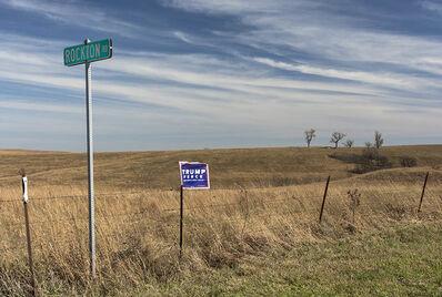 Joel Morgovsky, 'Trump-Pence Fence, Near Hiawatha, KS'