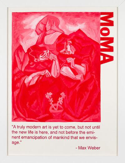 Yevgeniy Fiks, 'Communist Tour of MoMA (Max Weber)', 2010