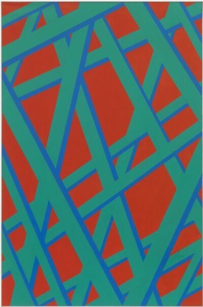 Florentine Pakosta, 'Demaged Grid II', 2012