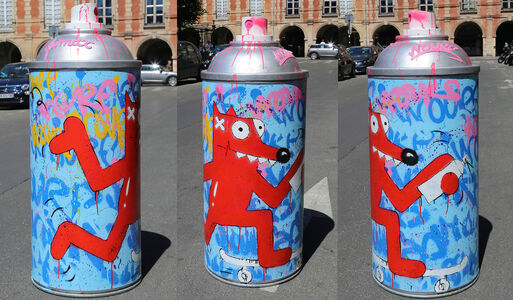 Pimax, 'Nourf Giant Can Spray ', 2019