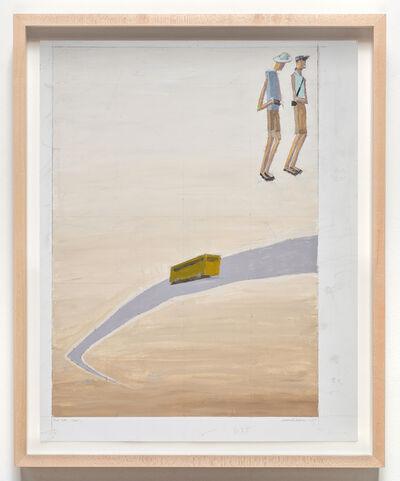 Mernet Larsen, 'Flat Tire (Study 1)', 2009
