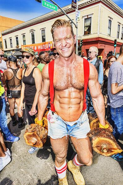 Mitchell Funk, 'Leather Pride Week.  Folsom Street Fair   BDSM San Francisco', 2015