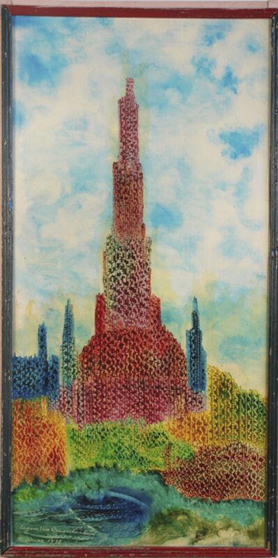 Eugene Von Bruenchenhein, 'Rainbow Complex Exterior, June 1978', 1978