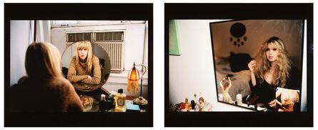 Nan Goldin, 'Joey in my mirror, Berlin 1992 / Joey in my vanity mirror, NYC 1999', 1992-1999