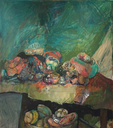Hyman Bloom, 'Still Life with Turban Squash', 1990
