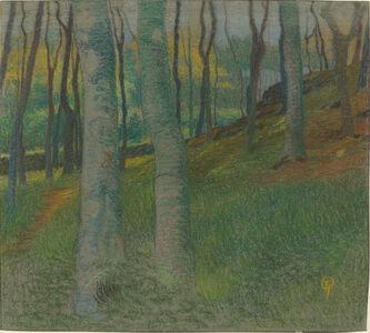 Lucien Ott, 'Wooded Landscape', ca. 1905