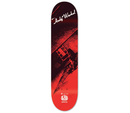 Andy Warhol, 'Andy Warhol Electric Chair Skateboard Deck (New)', 2010