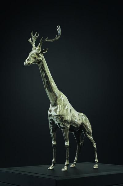 Mauro Corda, 'Petite girafe - cerf', 2015