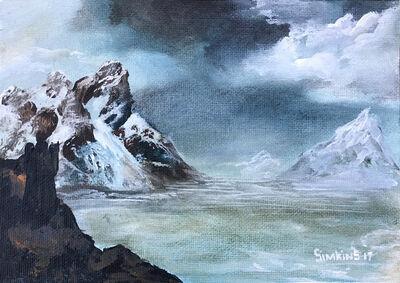 Greg 'Craola' Simkins, 'String Study 1', 2017