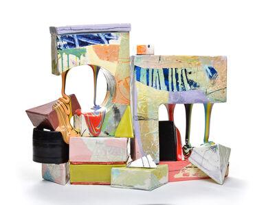 Lauren Mabry, 'Glaze Flow Blocks (20.03)', 2020