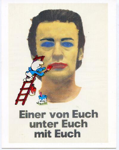 Hank Schmidt in der Beek, 'Collage Nr. 610 (Kippenberger/Schlumpf)', 2015