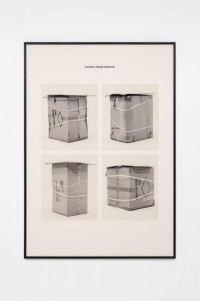 Jojo Gronostay, 'Chateau Rouge Displays III', 2020