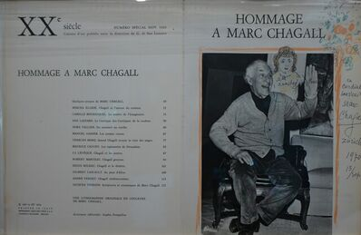 Marc Chagall, 'Tree sketch', 1970