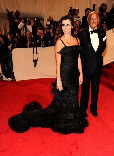 Oscar de la Renta, 'Penelope Cruz with Oscar de la Renta ', 2012