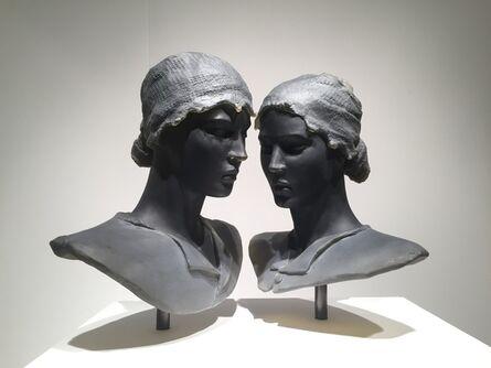Nicolas Africano, 'Twins (2 busts)', 2017