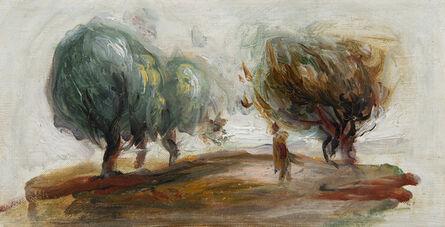 Pierre-Auguste Renoir, 'Paysage - fragment', 1910