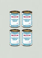 Banksy, 'Soup Can (Quad)', 2006