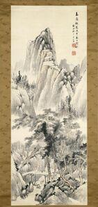 Hine Taizan, 'Gathering Fungus In Lofty Mountains', 1858