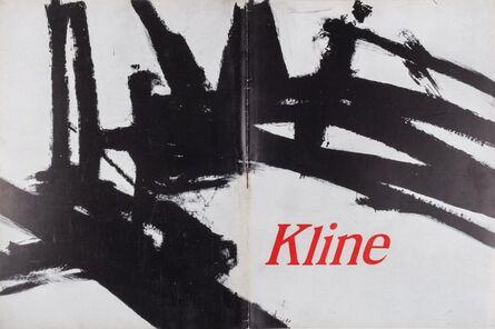 Franz Kline, 'Kline', 1963