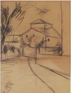 Ottone Rosai, 'contrada toscana', 1938