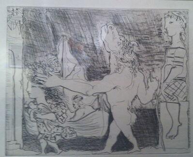 Pablo Picasso, 'Minotaur aveugle guide par une fillete,III', 1934
