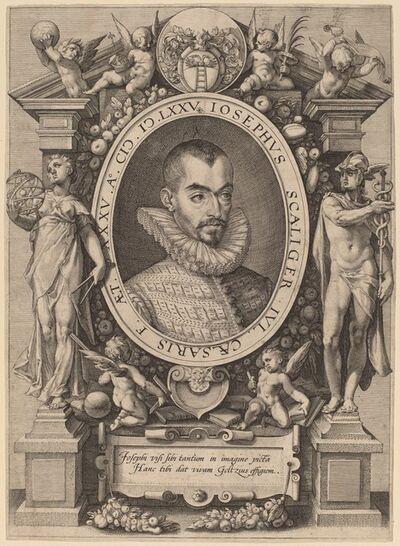 Hendrik Goltzius, 'Josephus Scaliger', 1592