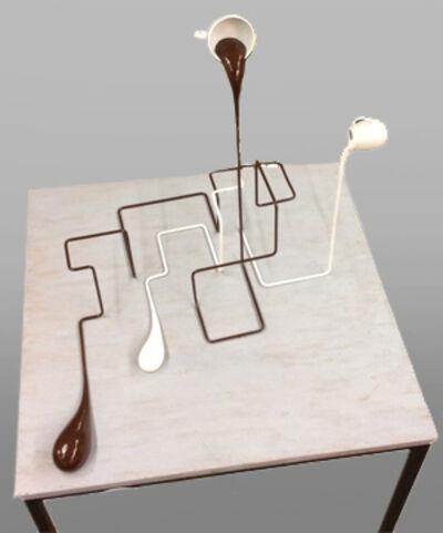 Markus Hofer, 'Geometrischer Milchkaffee', 2015