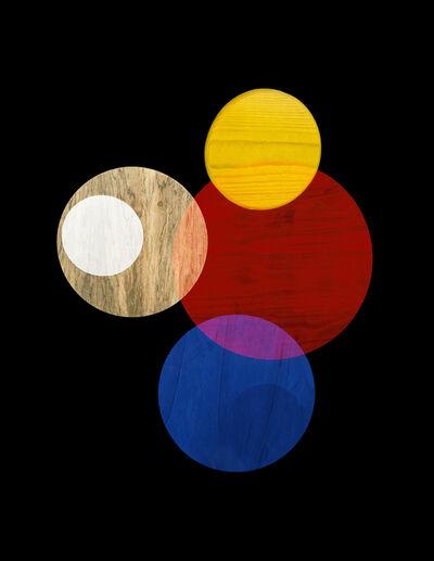 Alejandra Laviada, 'Primay Colors #1 (Circle Studies)', 2017