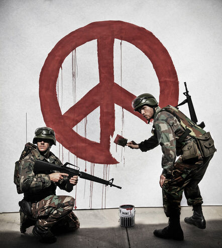 """Nick Stern, '""""Peace Army Corps"""" - Limited Edition Fine Art Print', 2015-2019"""