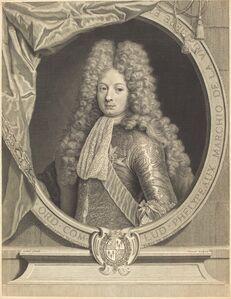 Pierre Drevet after Pierre Gobert, 'Marquis de la Vrilliere', 1701