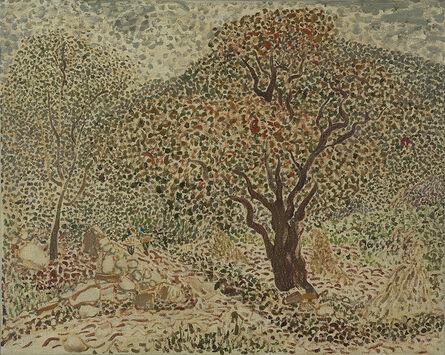 Mao Xuhui 毛旭辉, 'Guishan-Persimmon Trees in Autumn No.1', 2011