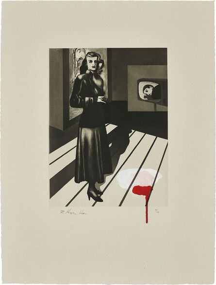Richard Hamilton, 'Patricia Knight III (coloured)', 1982