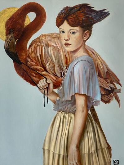 Claudia Giraudo, 'GOLDEN AGE, The Flamingo Spirit ', 2020