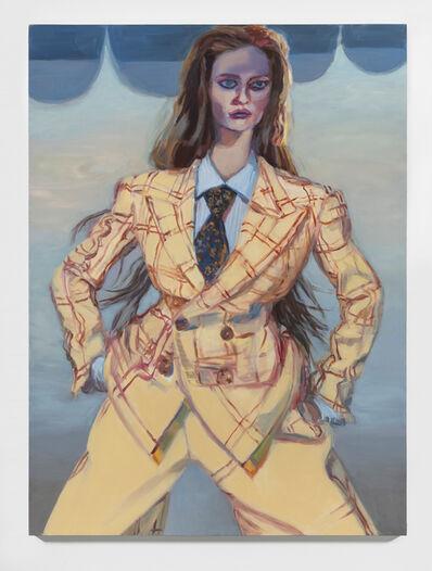 Janet Werner, 'Lauren (yellow suit)', 2021