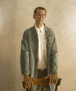 Paul Fenniak, 'Portrait of a Man in a Green Coat', 1995
