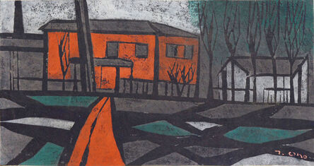Tadashige Ono, 'Old House', 1957