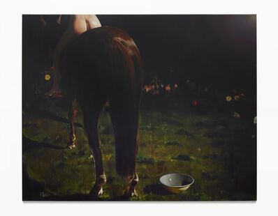 Léopold Rabus, 'Le cheval', 2015