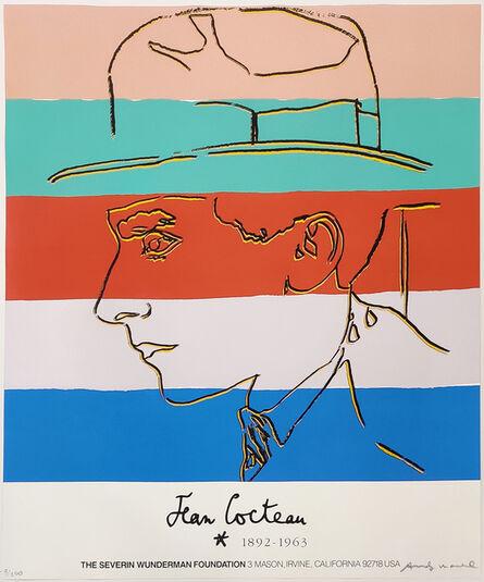Andy Warhol, 'JEAN COCTEAU FS II.329A', 1985