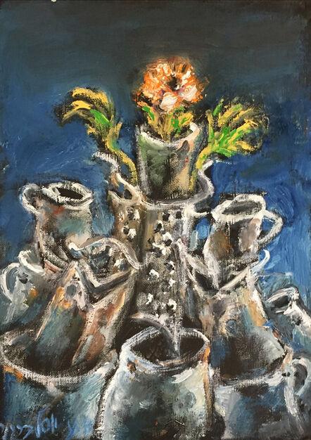 Yosl Bergner, 'Flower Tower', 2016
